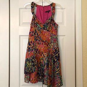 Nanette Lepore Colorful Midi Dress